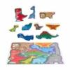 Playgo Formapuzzle dinó család