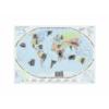 Trefl puzzle - világtérkép, 500 db-os