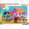 44 csacska macska 15 db-os keretes puzzle - Clementoni, többféle
