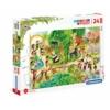 Állatkert 24 db-os maxi puzzle - Clementoni