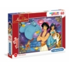 Aladdin 60 db-os puzzle - Clementoni
