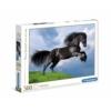Fríz fekete ló 500 db-os puzzle - Clementoni