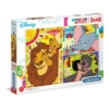 Disney klasszikusok 3x48 db-os puzzle - Clementoni