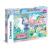 Unikornis 3x48 db-os puzzle - Clementoni