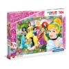 Disney Hercegnők 104 db-os ékszer puzzle - Clementoni
