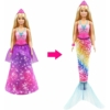 Barbie Dreamtopia átváltozó sellő, kétféle
