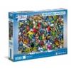 Az Igazság Ligája 1000 db-os lehetetlen puzzle - Clemetoni