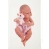 Antonio Juan csecsemő baba unikornis takaróval,42 cm-es