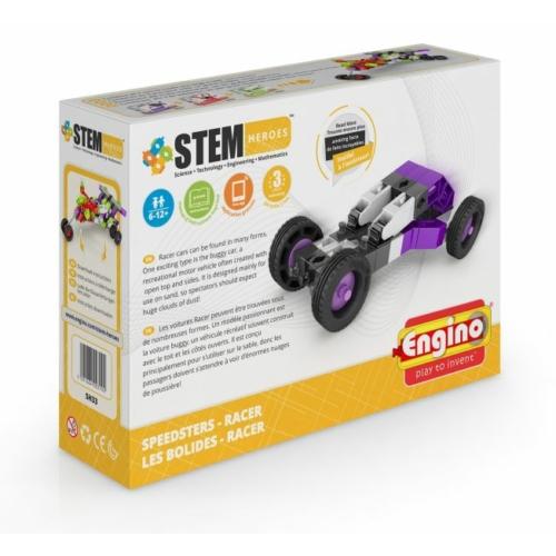 Engino Stem Heroes Gyorshajtású járművek - Racer építőjáték