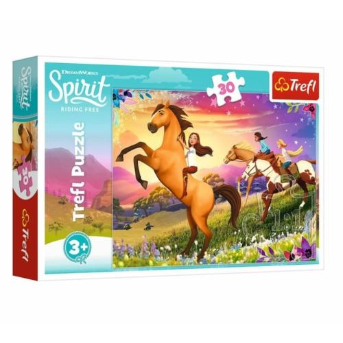 Szilaj, Szabadság 30 db-os puzzle - Trefl