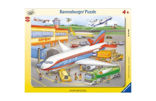 Ravensburger Puzzle 30-48 Repülőtér