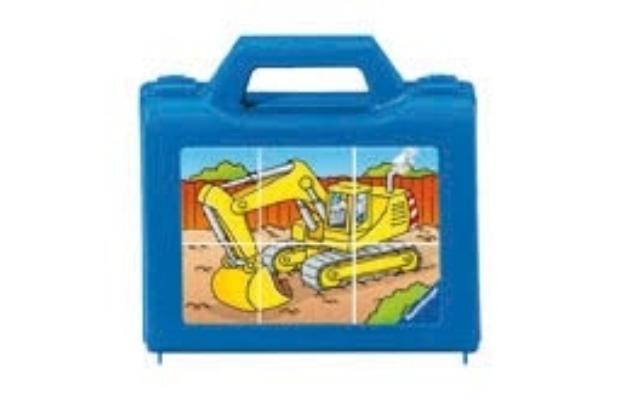 Ravensburger Kockapuzzle 3x2 Járművek