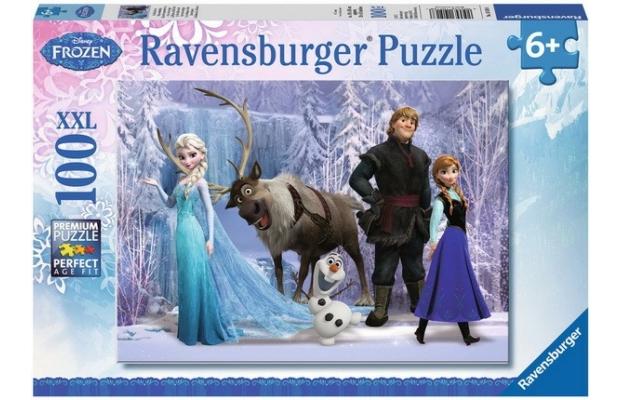 Jégvarázs 100 db puzzle - Ravensburger