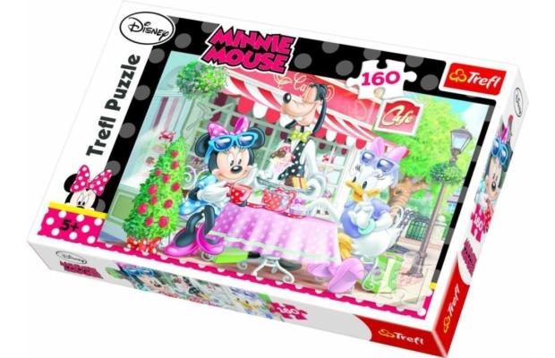 Trefl puzzle - Minnie a kávézóban, 160 db-os