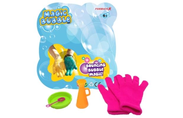 Magic Bubble megfogható buborék fújó szett