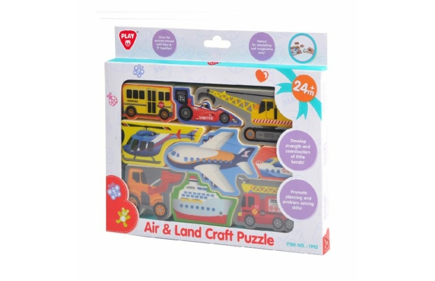 Playgo Formapuzzle járművek