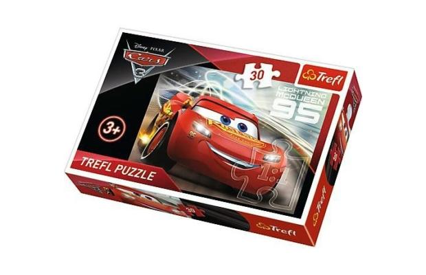 Verdák 3 Villám McQueen 30 db-os puzzle