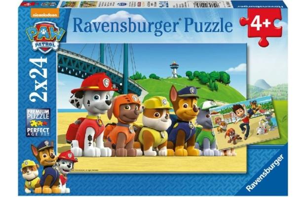 Mancs őrjárat hősök puzzle 2x24 db - Ravensburger