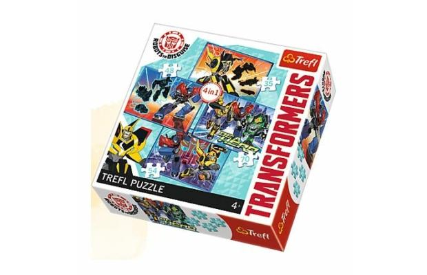 Trefl Transformers 4 az 1-ben puzzle