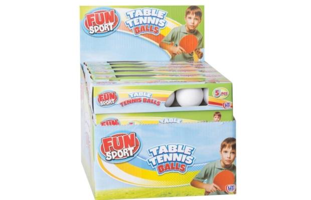 Ping-pong labda szett, 5 db-os