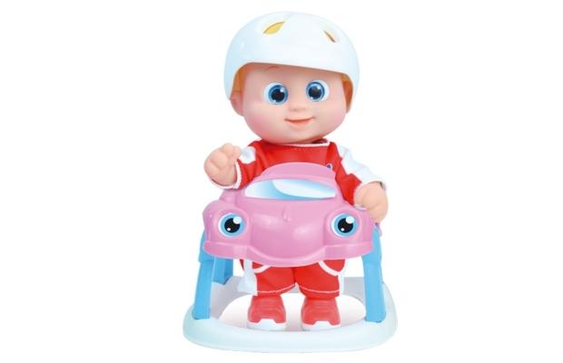 Szuper gyors sétáló Baniel baba autóval - Bouncing Babies