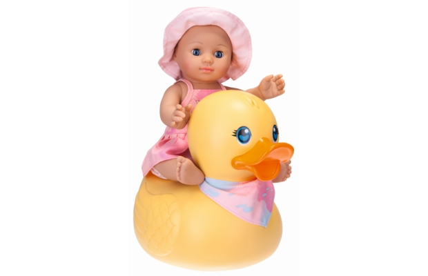Fürdő kislány baba kacsával - Schildkröt