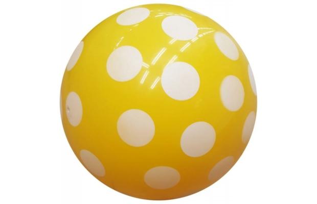 Klasszikus pöttyös labda - 40 cm-es, kétféle