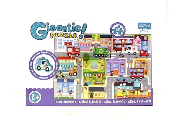 Trefl: Giga puzzle - Kisváros bébi kirakó