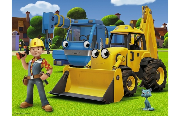 Bob, az építőmester - Új kihívás 30 db-os puzzle - Trefl