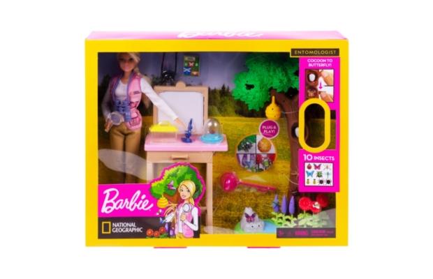 Barbie National Geographic rovarkutató játékszett