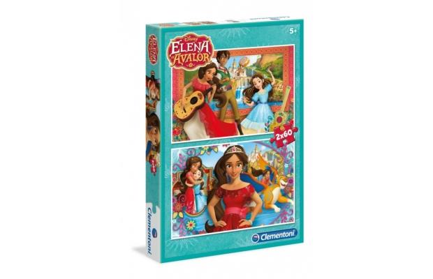 Elena Avalor hercegnője 2 X 60 db-os puzzle - Clementoni