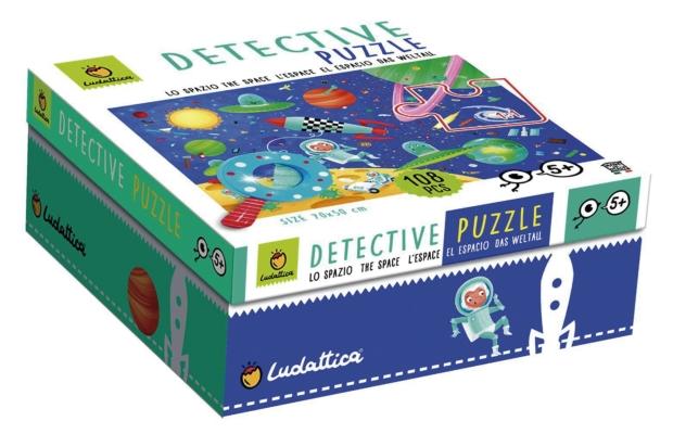 Detektív puzzle XXL - Az Űr, 108 db-os - Ludattica