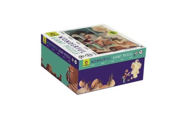 Óriás puzzle - Aladdin, 48 db-os - Ludattica