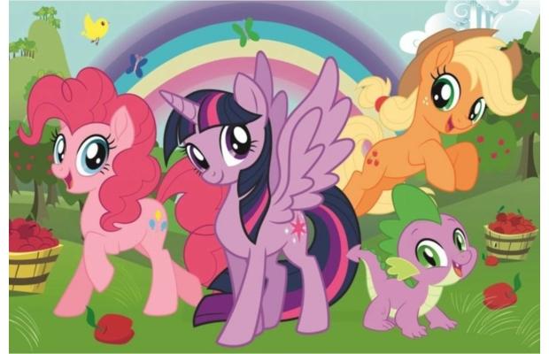 Rainbow friendship 60 db-os puzzle - Trefl