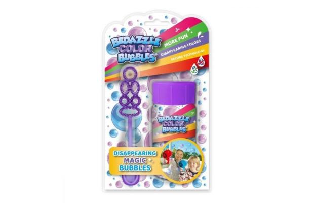Bedazzle buborékfújó színes buborékkokkal, 50 ml