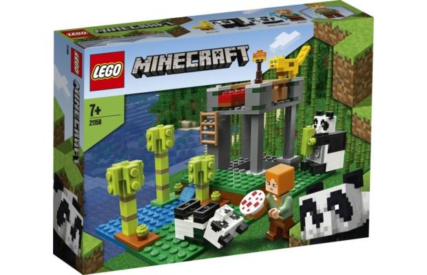 LEGO Minecraft: 21158 A pandabölcsőde