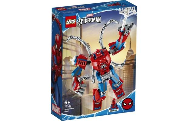 LEGO Super Heroes: 76146 Pókember robot