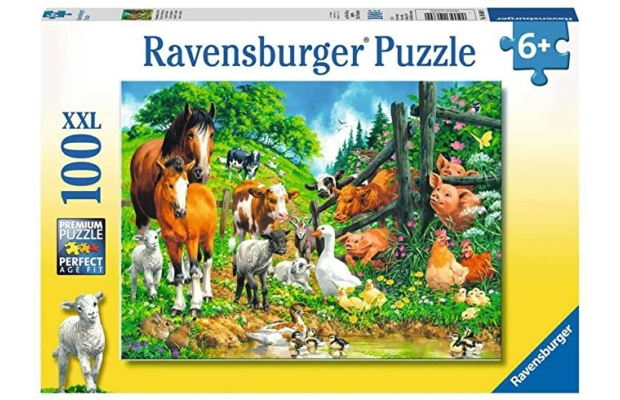 Állati találka 100 db-os XXL puzzle - Ravensburger