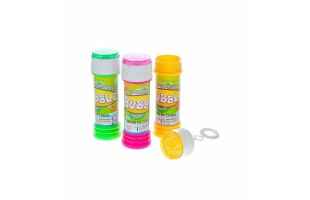 Buborékfújó golyóvezető játékkal 50 ml-es, többféle