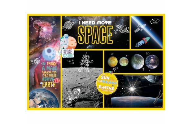 Űrkutató 180 db-os puzzle - Clementoni National Geographic Kids