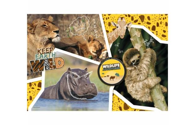 Vadvilág kutató 104 db-os puzzle - Clementoni National Geographic Kids