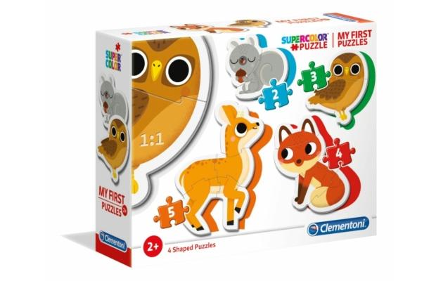 Erdei állatok 2,3,4,5 db-os puzzle - Clementoni