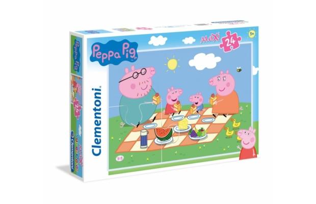 Peppa malac 24 db-os maxi puzzle - Clementoni