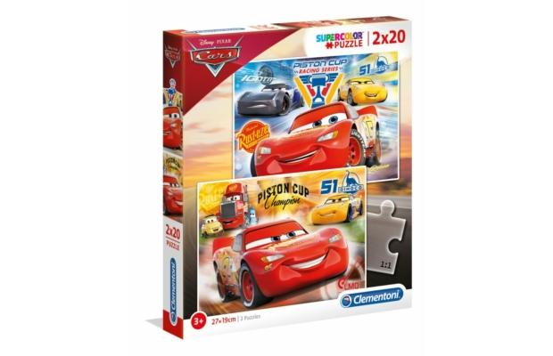 Verdák 3 2x20 db-os puzzle - Clementoni
