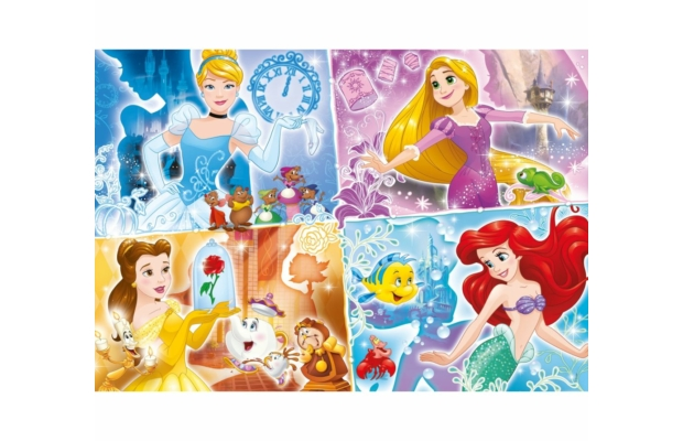 Disney Hercegnők 180 db-os puzzle - Clementoni