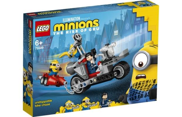 LEGO Minions: 75549 Megállíthatatlan motoros üldözés
