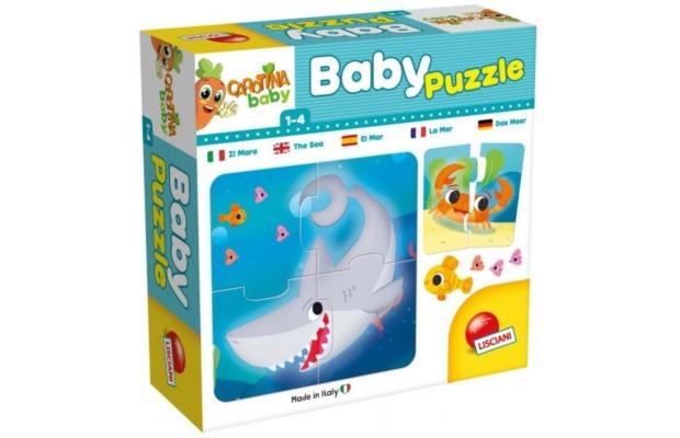 Tenger 6x4 db-os baby puzzle - Carotina
