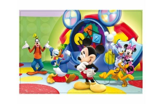 Mickey egér 2 az 1-ben 60 db-os puzzle