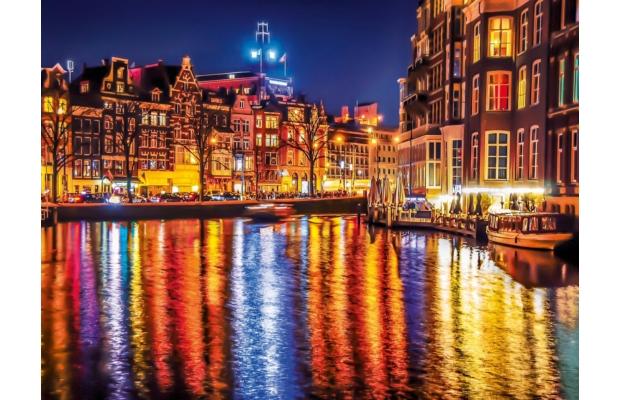 Amszterdam 500 db-os puzzle - Clementoni