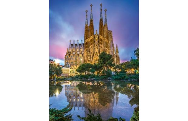 Barcelona - Sagrada Familia 500 db-os puzzle - Clementoni